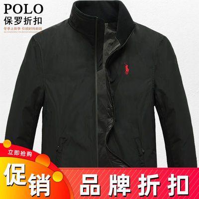 国际品牌保罗POLO羽绒服男新款保暖加厚冬季白鸭绒潮牌潮流外套男