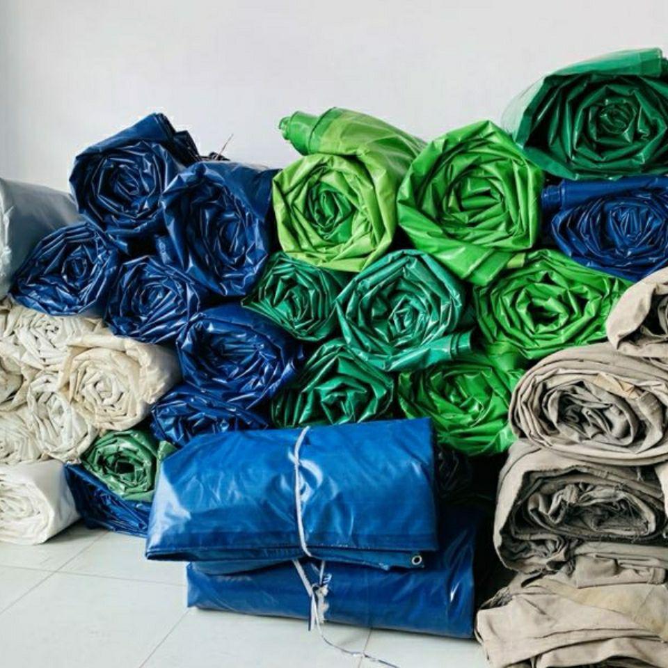 刀刮布卷布有机硅帆布涂塑布pvc防水篷布防水防晒防冻样品定做