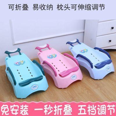 40730/宝宝洗头躺椅儿童家用洗头床小孩可折叠坐躺大号加厚婴儿洗头神器