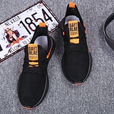 男士运动鞋跨境新款学生跑步鞋休闲透气百搭轻便舒适低帮单鞋男