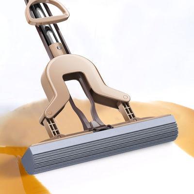 尔蓝海绵拖把免手洗干湿两用对折式家用懒人拖把大号吸水胶棉拖把