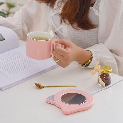71485/新款恒温杯垫55度智能自动加热暖杯垫热牛奶咖啡保温暖杯套装
