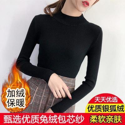 轻薄羽绒服女中长款立领大码加厚修身韩版收腰最新款冬外套学生