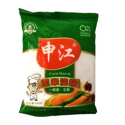 申江400g*2袋一级生粉玉米淀粉水晶肠专用粉虾饺粉凉皮粉家用烘焙
