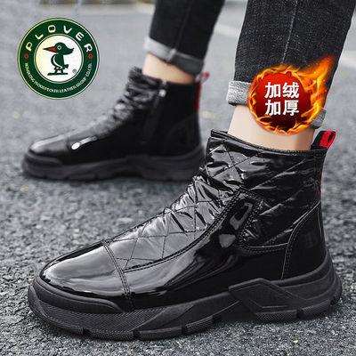【PLOVER啄木鸟】加绒加厚保暖棉鞋防滑雪地靴高帮鞋休闲运动鞋子