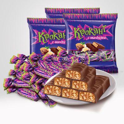 KDV进口紫皮糖俄罗斯原装正宗巧克力糖果100g装结婚零食喜糖