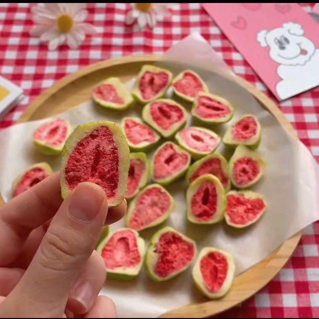 网红抖音抹茶草莓养身零食随身带上班休闲零食