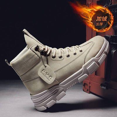 特价男鞋清仓处理马丁靴皮鞋皮靴加绒加厚保暖棉鞋商务休闲男靴子