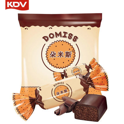 KDV俄羅斯進口松露土豆泥夾心巧克力糖500g婚慶喜糖網紅100g