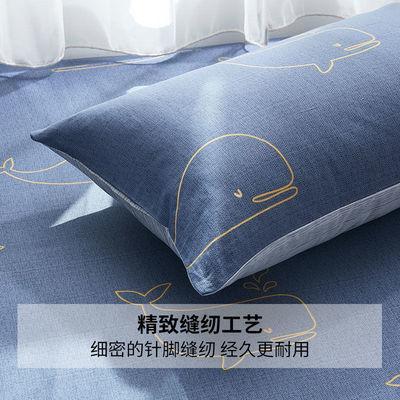 纯棉枕套一对装全棉枕头套单人一只48x74cm100儿童成人卡通高档