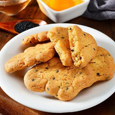 【买100包送100包】宫廷小桃酥饼干整箱传统糕点批发零食早餐食品
