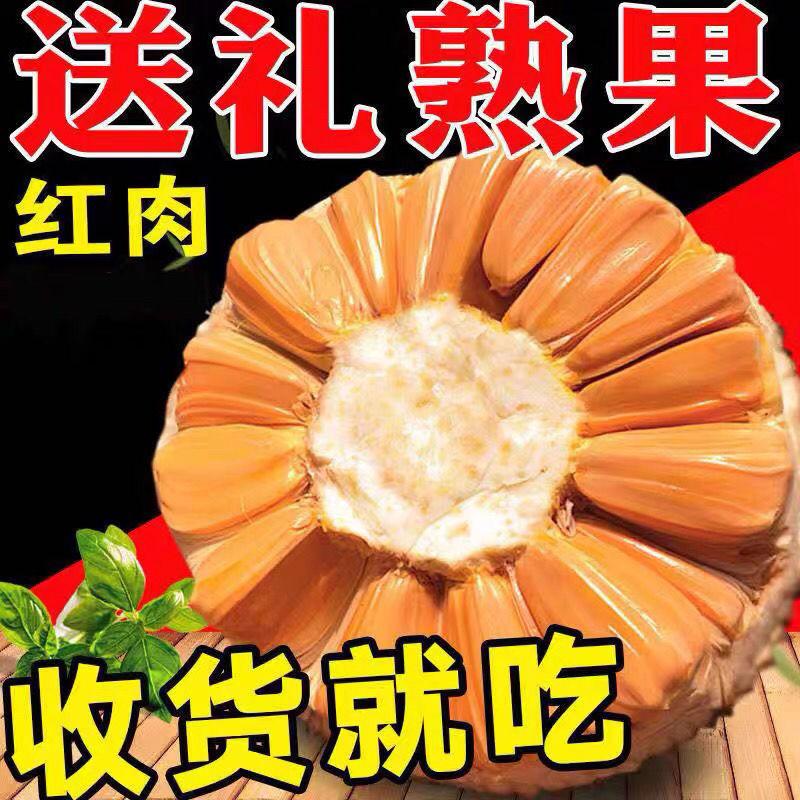 【树上熟红肉菠萝蜜5–7斤】进口现摘热带当季新鲜水果批发非海南