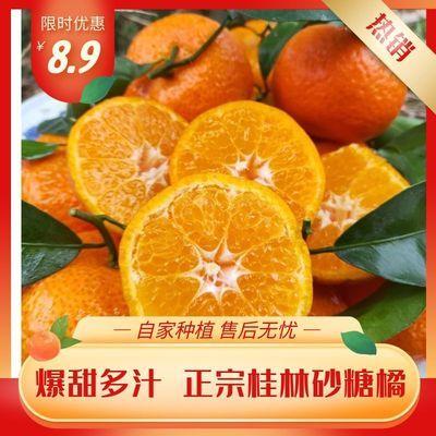桂林砂糖橘广西正宗新鲜当季小橘子蜜桔子薄皮沃柑超甜3/5斤包邮