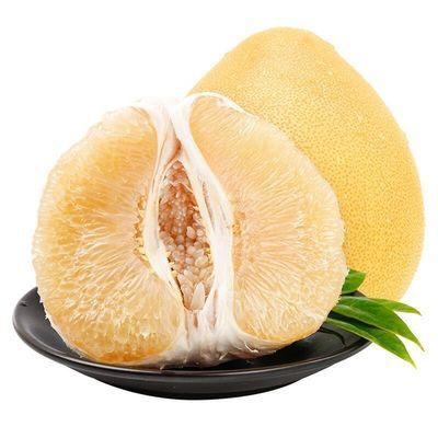 柚子白心大蜜柚薄皮白柚子正宗管溪白柚水果单果900g起1-4个装