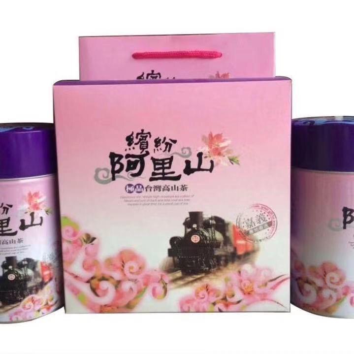 台湾高山茶浓香型阿里山乌龙半生熟醇和鲜爽轻焙火台湾乌龙茶新茶