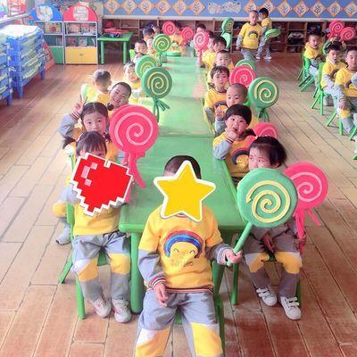 16627/幼儿园学校运动会入场手拿道具棒棒糖儿童早操器械操舞蹈演出道具