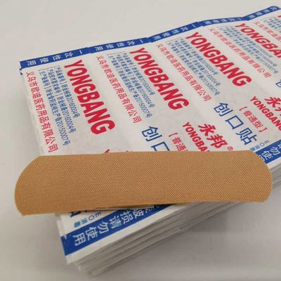 【药店有售】创口贴加厚棉布伤口护理用品小伤敷止血贴永邦创可贴