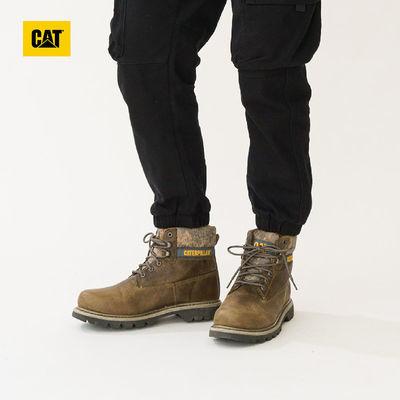 CAT卡特秋冬款男COLORADO褐色休闲靴工装靴男靴男鞋