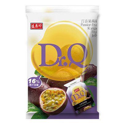 进口台湾原产盛香珍Dr.Q百香果汁蒟蒻果冻