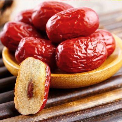 新鲜新疆和田红枣1斤装煲汤泡茶