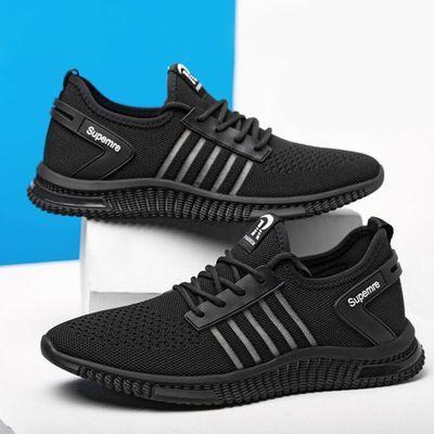 时尚潮流男鞋子2020秋季新款韩版潮鞋男士休闲跑步鞋学生运动鞋男