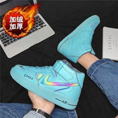 空军一号高帮aj男鞋潮牌韩版棉鞋百搭男士高帮板鞋运动鞋学生风