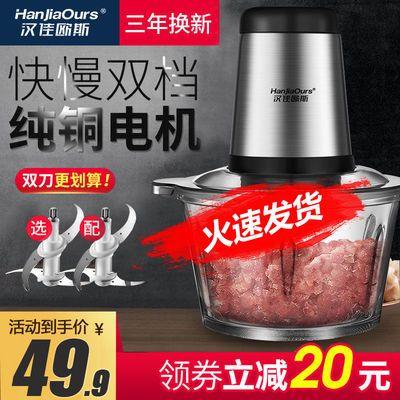 【十年保修】绞肉机家用电动多功能厨房绞馅机不锈钢搅拌器绞菜器
