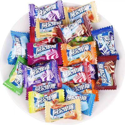 阿尔卑斯糖果原味草莓味混合多口味水果糖喜庆喜糖结婚糖散装批发