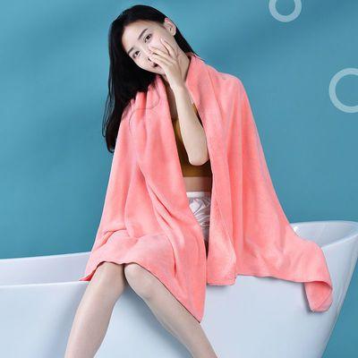 毛毛雨毛巾浴巾家用比纯棉吸水速干不掉毛学生洗澡巾儿童裹巾女