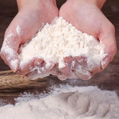 高筋家庭面包粉烘焙原料拉面披萨粉强筋小麦粉吐司面包机烤箱5斤