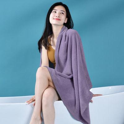 加大浴巾超吸水毛巾男女成人儿童超柔软速干洗澡巾家用可裹不掉毛
