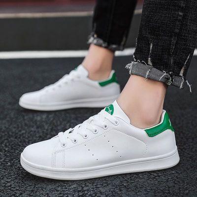 史密思小白鞋子男鞋2021新款冬季潮流百搭皮面板鞋休闲时尚运动鞋