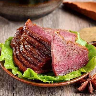 五香酱牛肉熟食黄牛肉即食2斤装牛腱子肉真空包装批发零食200g