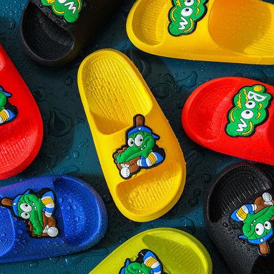 73945/儿童拖鞋夏男女童室内家用软底防滑浴室洗澡中大童亲子宝宝凉拖鞋