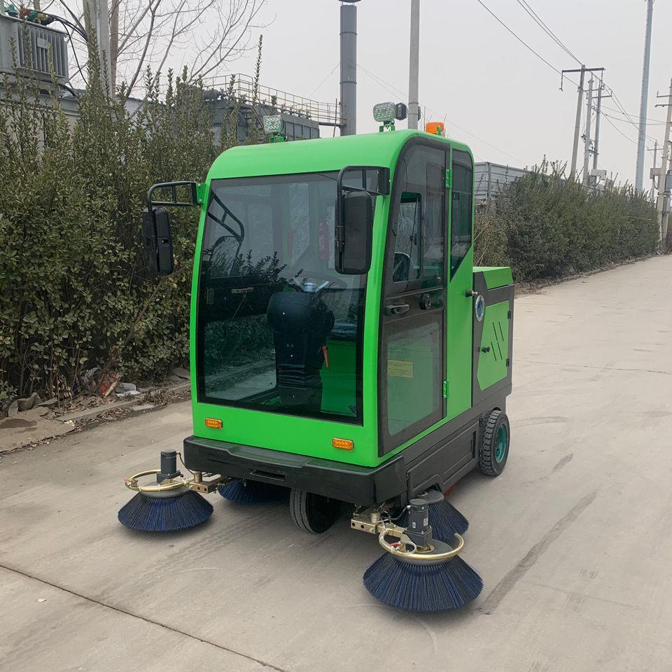 扫路车电动扫地车工厂车间地面洗地机小区人行道清扫车电动扫路车