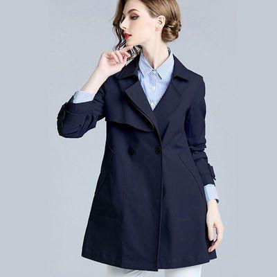 73252/风衣女2021春秋新款韩版修身显瘦气质百搭小个子西装流行短款外套