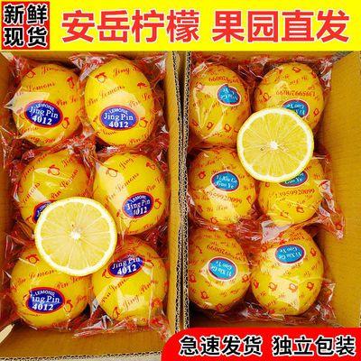 安岳黄柠檬新鲜水果柠檬果子生鲜水果柠檬新鲜批发多规格柠檬泡水