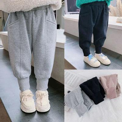 男女童卫裤2021春夏装中大童收口休闲裤儿童运动裤