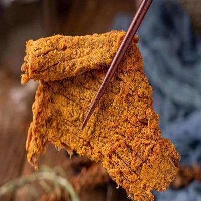 正宗内蒙古特产手撕牛肉干五百克牛肉片香辣五香即食休闲零食