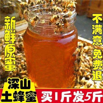 蜂蜜原生态洋槐蜜百花蜜天然纯正蜂成熟土蜂蜜农家自产自销真蜂蜜