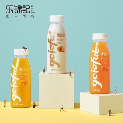 果益纷果汁饮料300ml*8瓶整箱3口味芒果沙棘椰汁