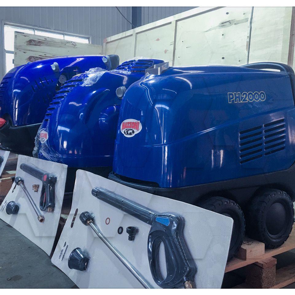 进口意大利工业高温高压蒸汽清洗机大型厨房油污热水洗车机养殖场