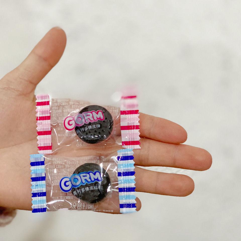 锦大max5花生榛果仁椰蓉巧克力棒儿童休闲零食批发 奥利奥橡皮糖