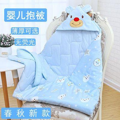 19036/婴儿抱被新生儿纯棉包被巾宝宝包布襁褓全棉裹布秋冬春夏保暖包被