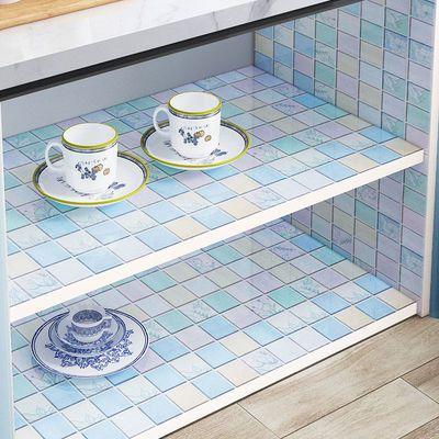 橱柜贴纸防水防潮厨房家用防油贴纸防火耐高温自粘壁纸灶台防水贴