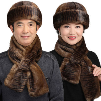 保暖帽中老年帽子