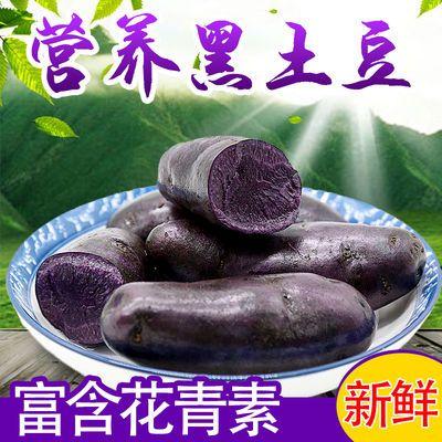 57706/包邮黑土豆新鲜蔬菜黑金刚农家马铃薯非紫薯黑洋芋黑美人