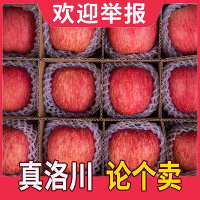 【央视直荐假一罚十】正宗陕西红富士洛川苹果当季整一箱5/10斤
