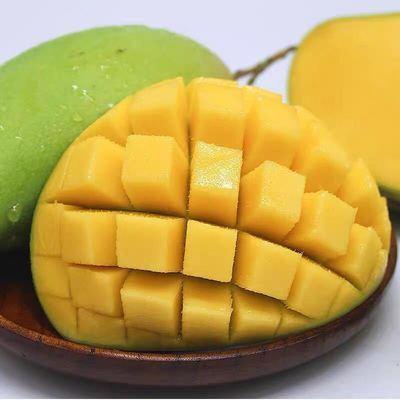 越南进口玉芒甜心芒果3/5/10斤大青芒青芒果新鲜应季水果金煌芒