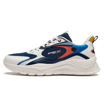 361°运动鞋男鞋2021新款跑鞋网面轻便休闲鞋软底减震跑步鞋